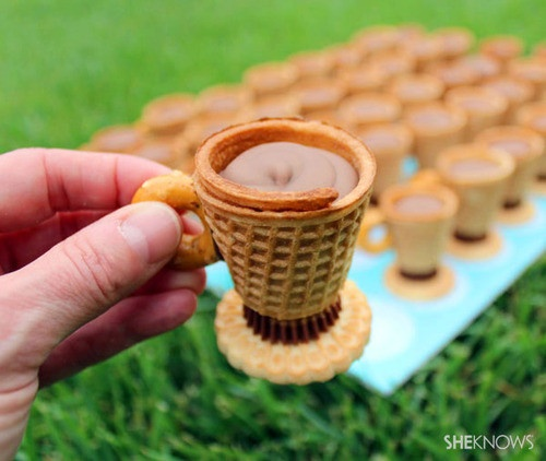Edible Teacup