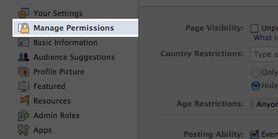FacebookManagePermissions